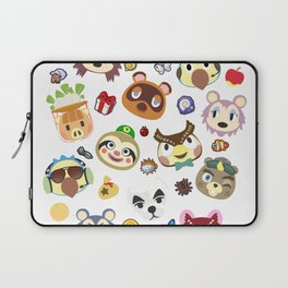 animal crossing cute villagers Laptop Sleeve