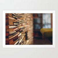 library Art Prints featuring library by Kristina Strasunske