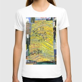 Europe by Seattle Artist Mary Klump T-shirt