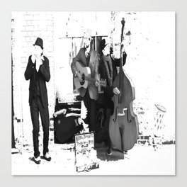New Orleans Music in the Streets Canvas Print
