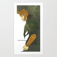 loki Art Prints featuring Loki  by Pulvis