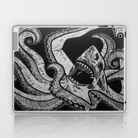 Sharktopus Laptop & iPad Skin