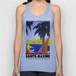 Sainte Maxime  Unisex Tank Top