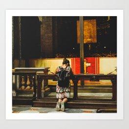 PHOTOGRAPHY - Pray Art Print