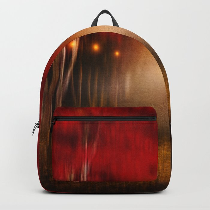 Red Melody Backpack