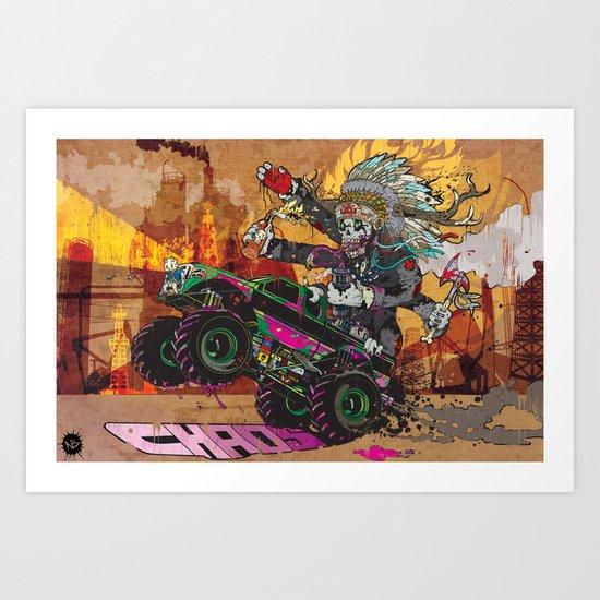 Wolves & Scandals Art Print