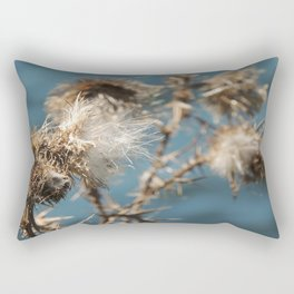 Blowing in the wind Rectangular Pillow