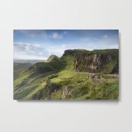 The Road to the Quiraing II Metal Print