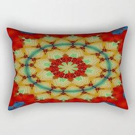 Parasol Kaleidoscope Rectangular Pillow