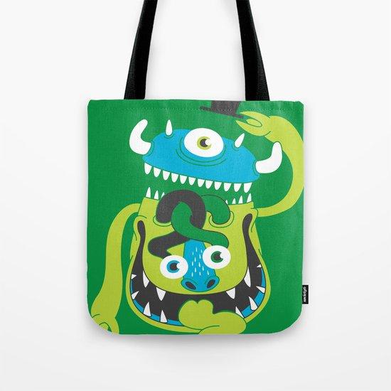 Mister Greene Tote Bag