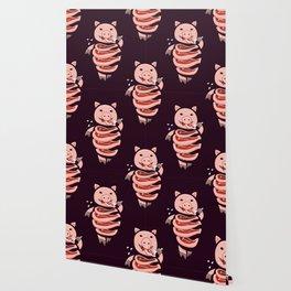 Gluttonous Cannibal Pig Wallpaper