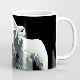 Vintage vector Zoo ad Basel polar bear Coffee Mug