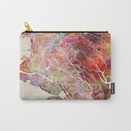 Oakland map Carry-All Pouch