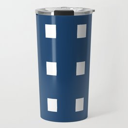 Squares on Aegean Sea Travel Mug