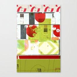 « les villes » Canvas Print