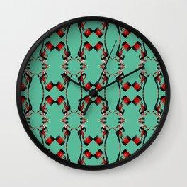 Harley pattern Wall Clock