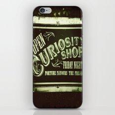 Night Curiosity iPhone & iPod Skin