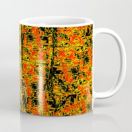 Golden Red Coffee Mug
