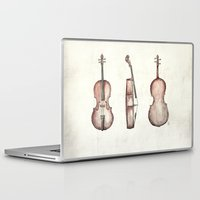 cello Laptop & iPad Skins featuring Cello by Mike Koubou