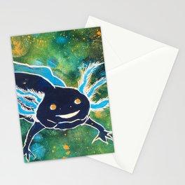 Navy Cosmic Astra-lotl Stationery Cards