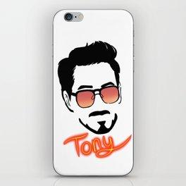 Tony Stark (Graphic) iPhone Skin
