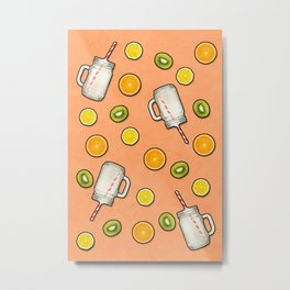 Summer fruit #society6 Metal Print