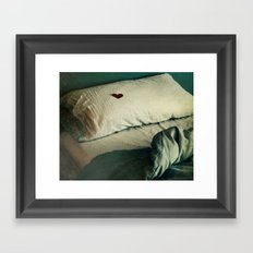your touch Framed Art Print
