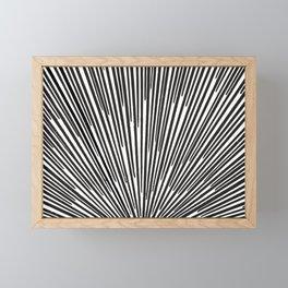 Sunrays Framed Mini Art Print