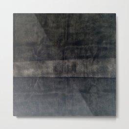 Grid Painting Invert Metal Print