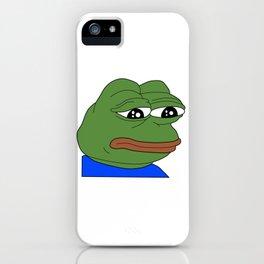 FeelsBadMan iPhone Case