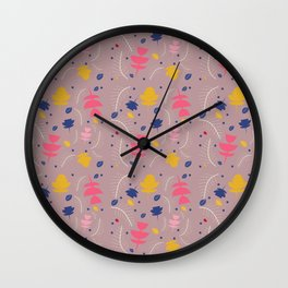 Spring floral #5 Wall Clock
