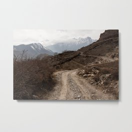 Lost is the Himalaya Metal Print