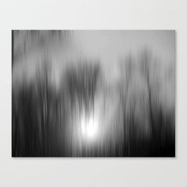 Winter Sun Canvas Print