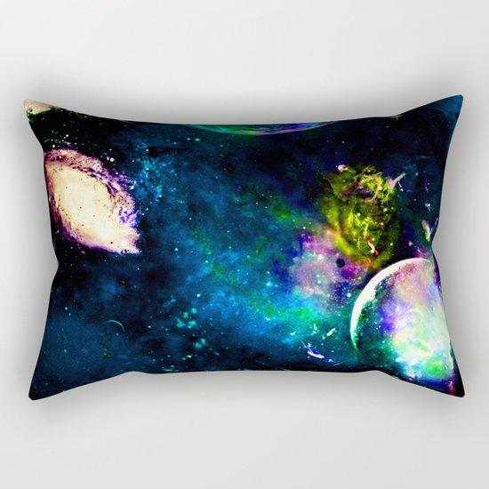 Planet Aura Rectangular Pillow