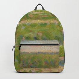 """Georges Seurat """"La Maison au toit rouge"""" Backpack"""
