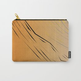 wild, design wood Gold Carry-All Pouch