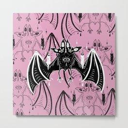 spooky bats Metal Print