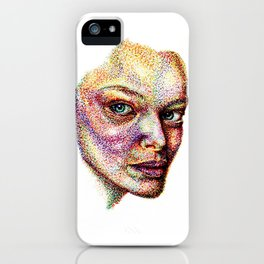 Face Pointed Out iPhone Case