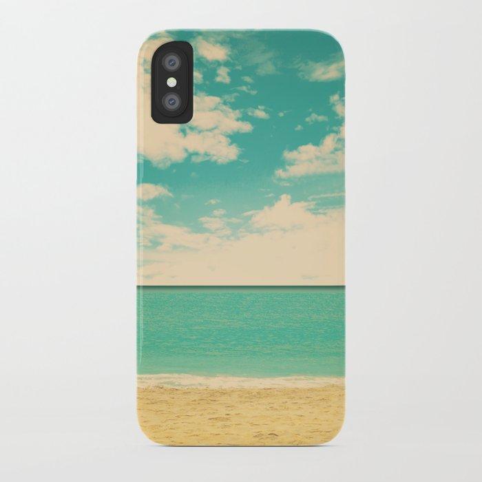 Retro Beach iPhone Case