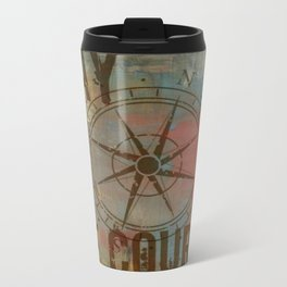 Stay the Course Metal Travel Mug