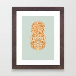 Hei Tiki Framed Art Print