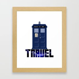 Doctor Travel Framed Art Print