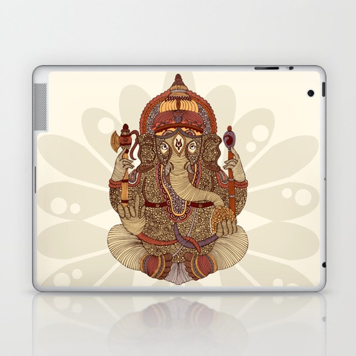 Ganesha: Lord of Success Laptop & iPad Skin
