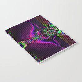 Abstract Fractal Fantasy 2 Notebook