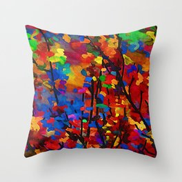 Malus 'Red Splendor' Flowering Crab  (Late Summer) Throw Pillow