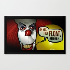 They Float, Georgie Canvas Print