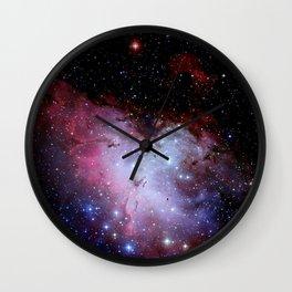 Eagle Nebula / pillars of creation Wall Clock
