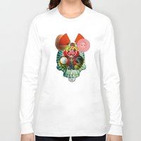 easter Long Sleeve T-shirts featuring Radiation Easter by Marko Köppe