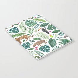 Jungle/Tropical Pattern Notebook