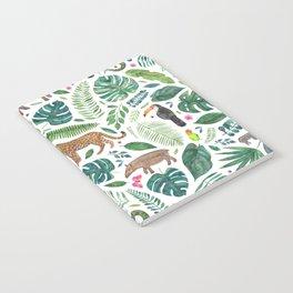 Jungle/Tropical Pattern Notebook
